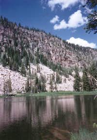 Yellowpine Lake is on the...