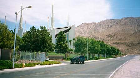 The Las Vegas Mormon Temple,...