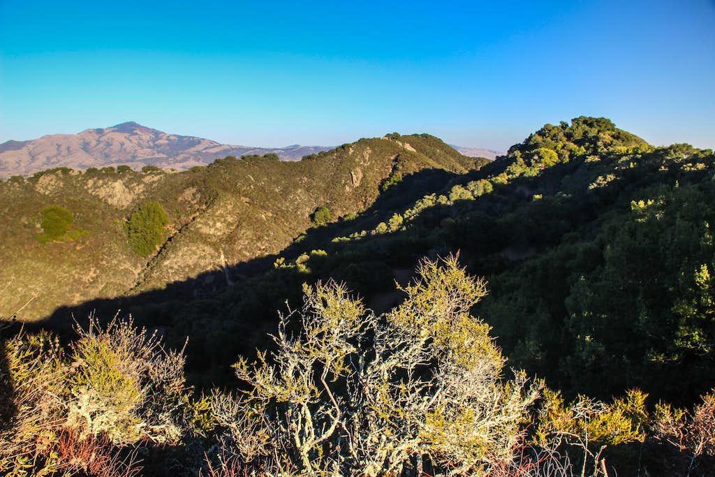 Las Trampas Ridge with Mt. Diablo