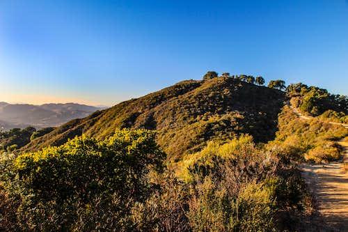 Las Trampas Peak from the south