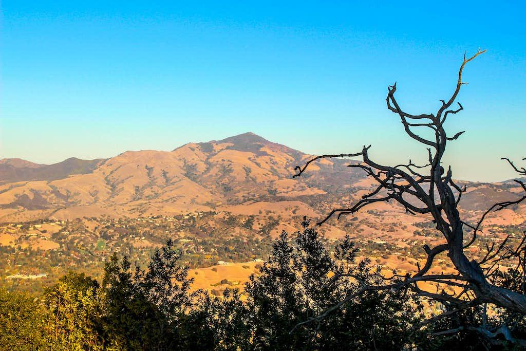 Mt. Diablo from Las Trampas Ridge