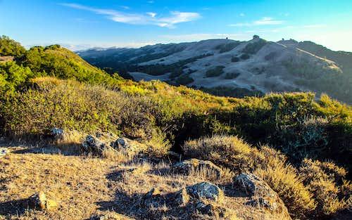 Rocky Ridge from Las Trampas Peak