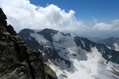 Sonklarspitze west face