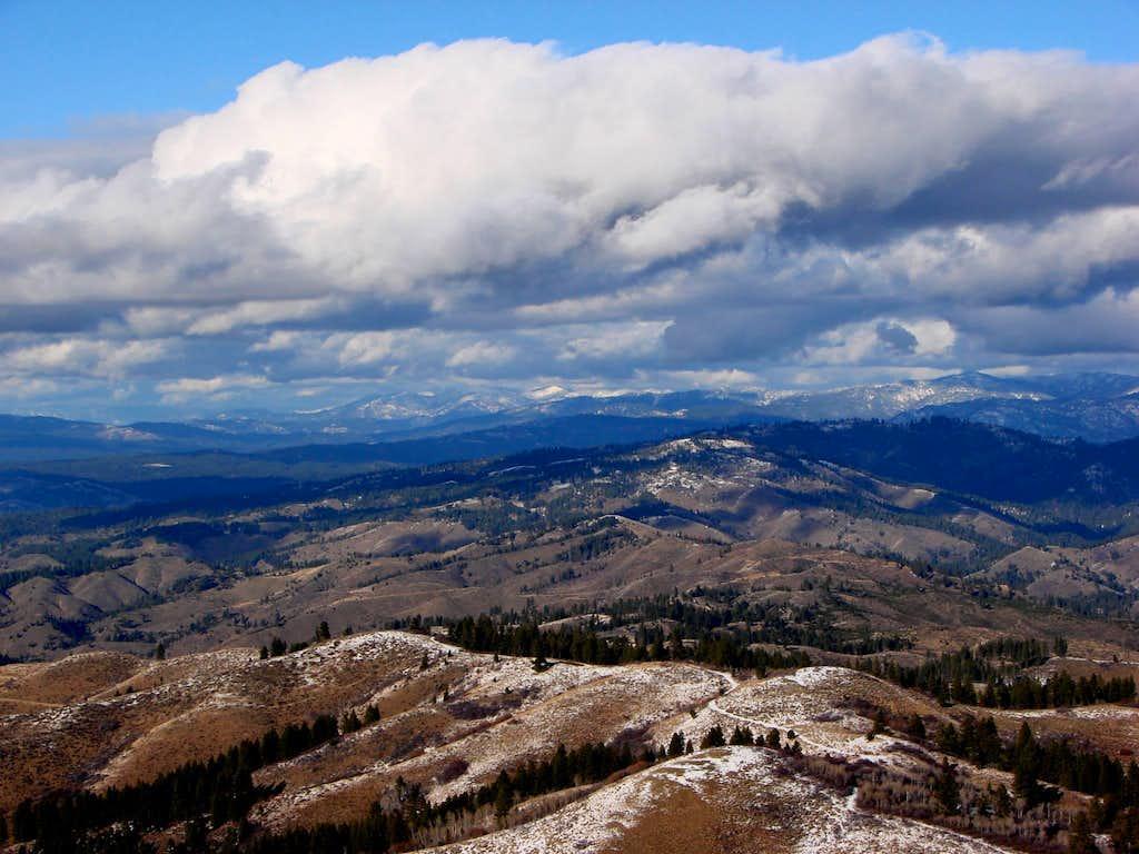 Facing North from Mt. Heinen