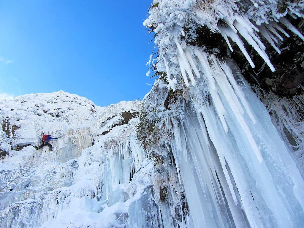 Welsh Ice Climbing