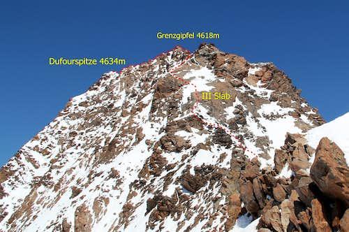 Monte Rosa 4634m
