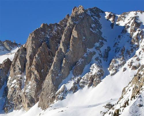 East face of Mt. Irvine from...