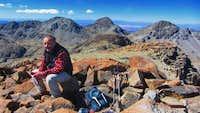 Summit of Cerro Kari Kari Central