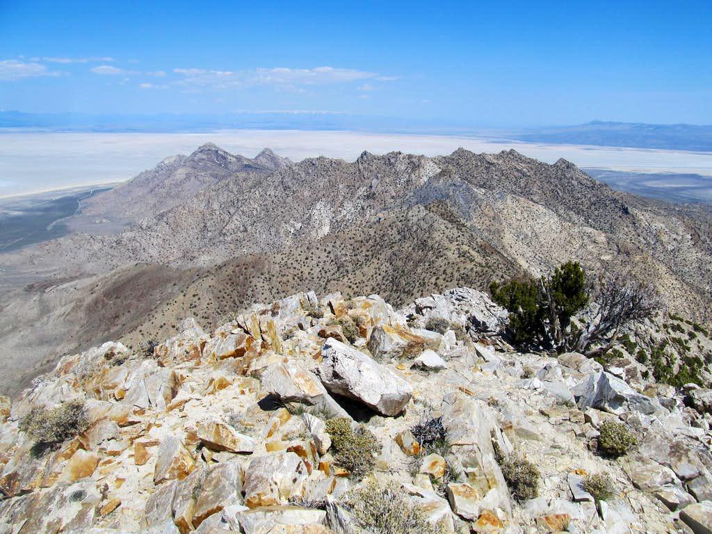 north from Desert summit
