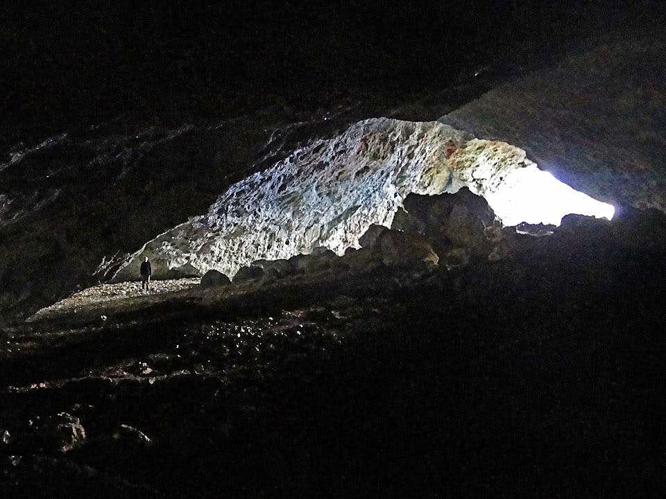 Inside Potocka Zijalka