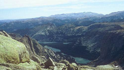 Cathedral Lakes cirque.