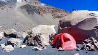 Our base camp on Parinacota
