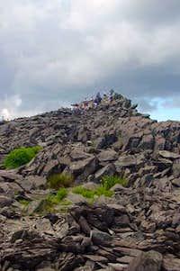 Tallac's rocky summit, 20...