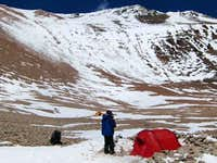 1st high camp Pirca del Indios