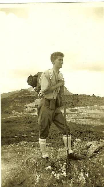 My Great Uncle on the ridge...