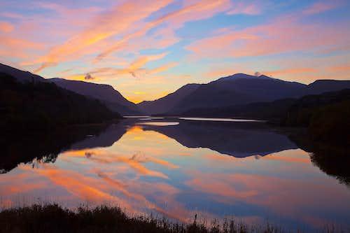 Sunrise over Snowdon