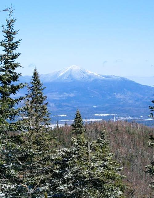 Whiteface Mountain seen from...