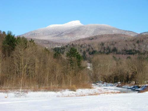 Camels Hump from the west