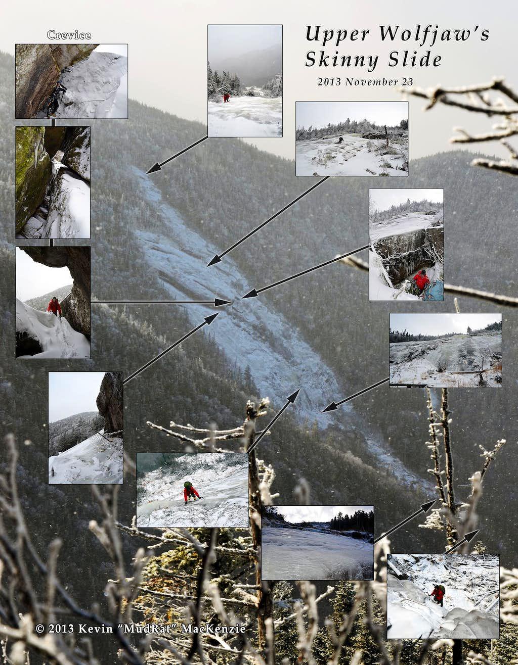 Mosaic Upper Wolfjaw Skinny Slide
