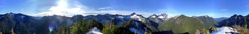 Bornite Mountain summit pano