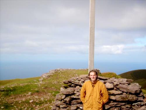 Me at the top. My first irish...