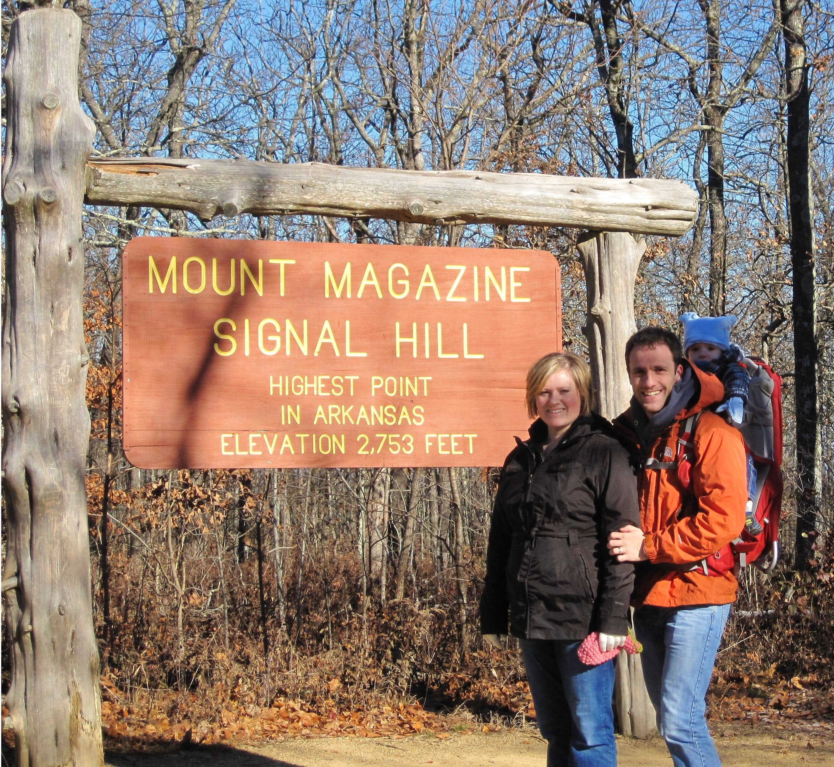 Mount Magazine - A Cold November Hike