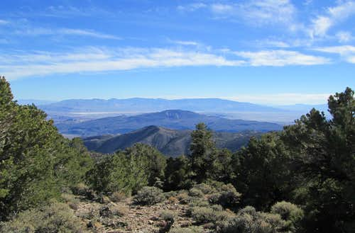 Miller Mountain (NV) View east