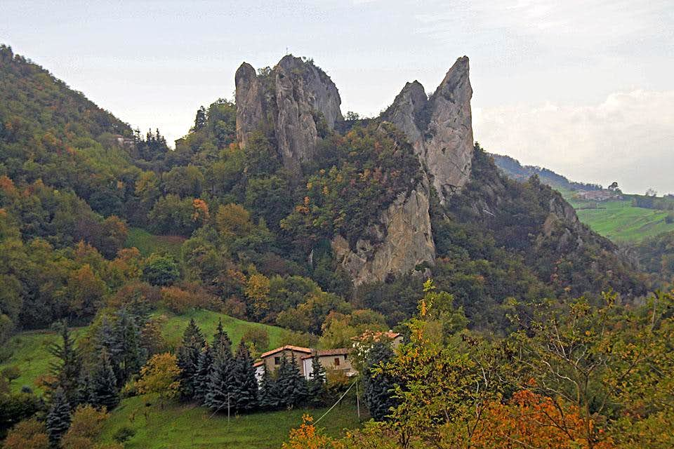 Rocca Malatina from the NW