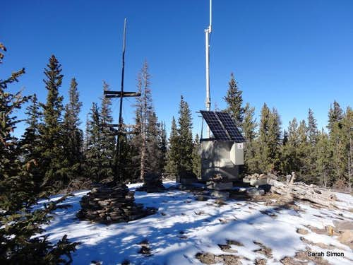 Summit of Razor Creek Dome