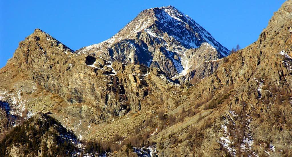 CURT XI° Glacier above Raty