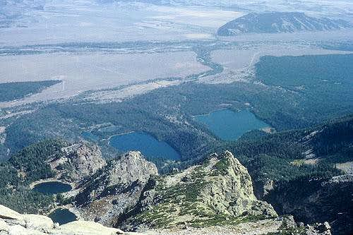 Jackson Hole from the summit.