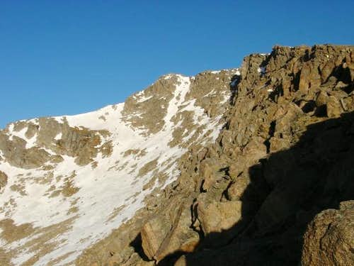 Mt. Spaulding from the Summit...