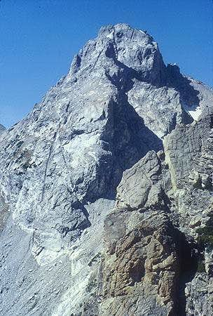 Middle Teton from the summit....