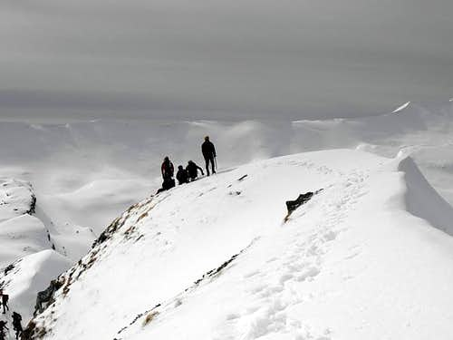 The Southern summit in wintertime