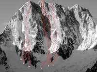 Grandes Jorasses, North...