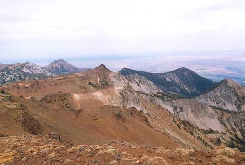 Sawtooth Peak from the north...