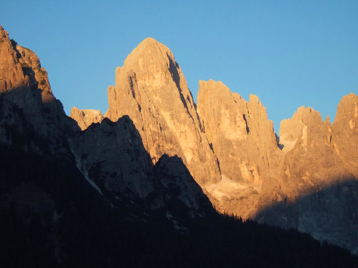Pale di San Martino lights
