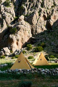 Basecamp Aladag's South Valley
