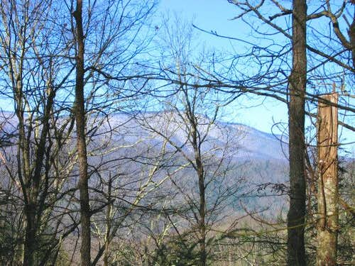Looking toward Mount Sterling...