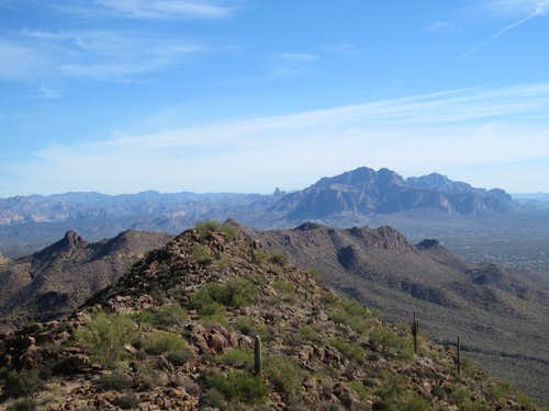 Superstitions from Pass Mountain