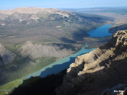 Upper and Lower Green River Lakes