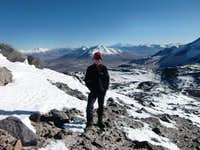 Approximately 6300 meters sea-level achieved, but still a long way ...