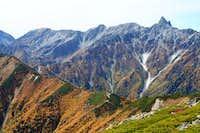 Mt. Yari from Daiten