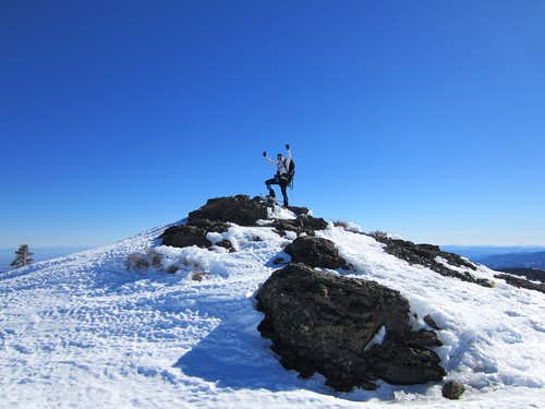 Winter Ascent of Snow Mountain