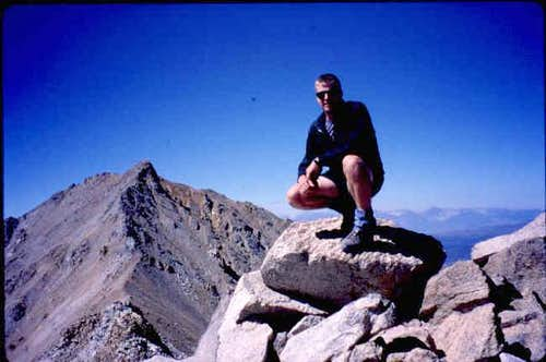 Summit of Boundary Peak