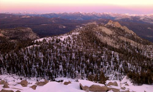 Dogtooth Peak from Three Sisters