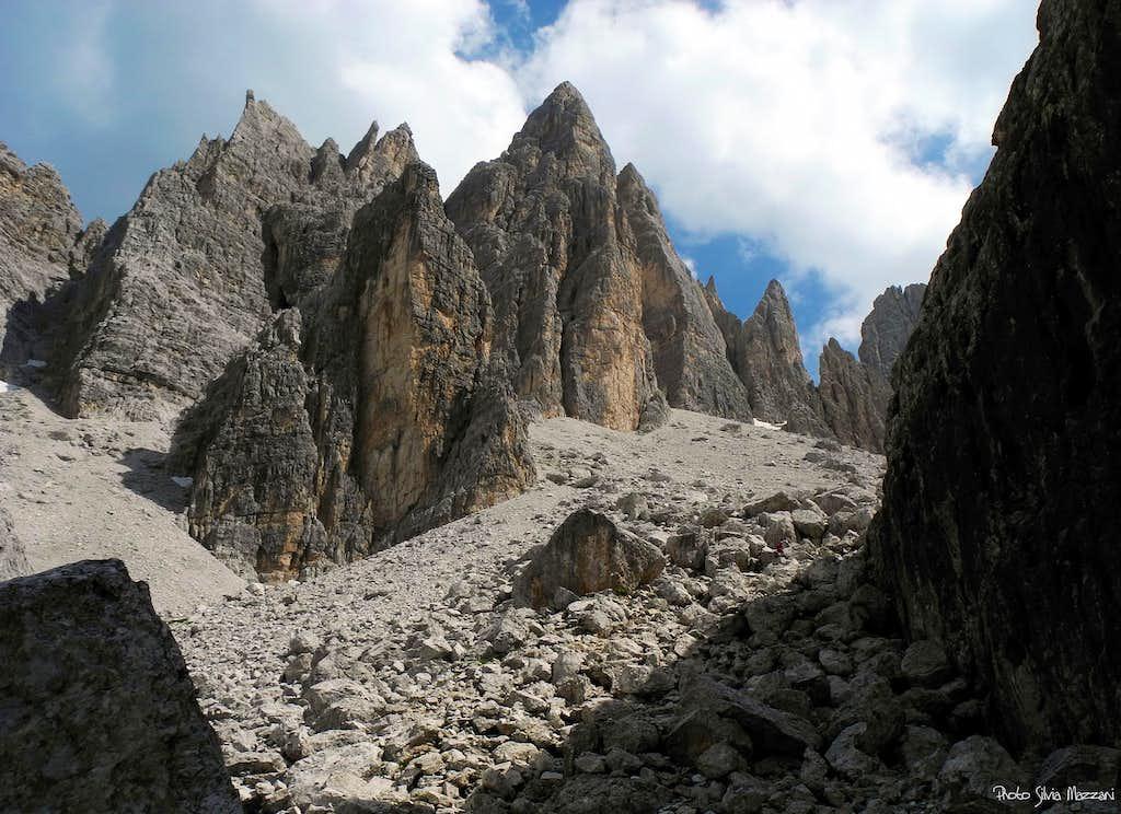 Approaching Campanile Federa