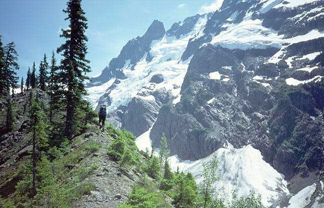 Enjoy hiking the moraine...