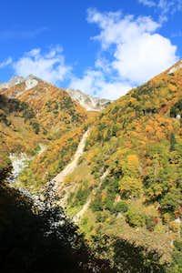 Yellow mountain