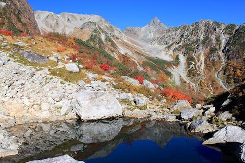Mt.Yari  & Tengu pond